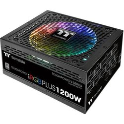 Блок питания Thermaltake ATX 1200W Toughpower I 80+ platinum (24+4+4pin) APFC 140mm fan 12xSATA Cab Manag RTL