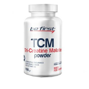 Креатин Be First TCM Tri-Creatine Malate Powder (100 г)