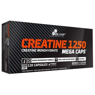 Креатин Olimp Creatine 1250 Mega Caps (120 шт.)