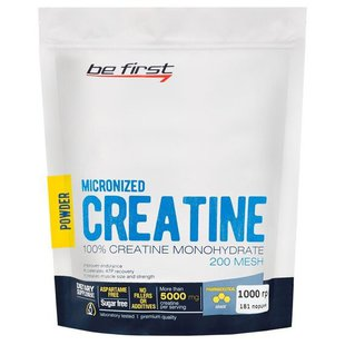 Креатин Be First Micronized Creatine Monohydrate Powder (1000 г)