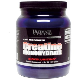 Креатин Ultimate Nutrition 100% Micronized Creatine Monohydrate (1000 г)