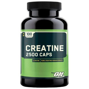 Креатин Optimum Nutrition Creatine 2500 Caps (100 шт)