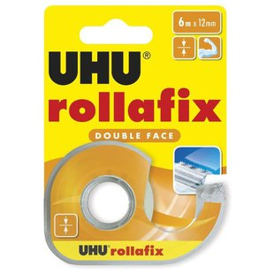 UHU Скотч ROLLAFIX DOUBLE FACE 36975