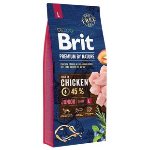 Корм для собак Brit Premium by Nature Junior L