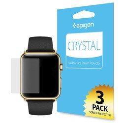 Защитная пленка для Apple Watch 42мм Spigen LCD Film Crystal CR (SGP11493)