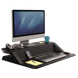 Подставка Fellowes Lotus Sit-Stand Workstation FS-00079 (черный)